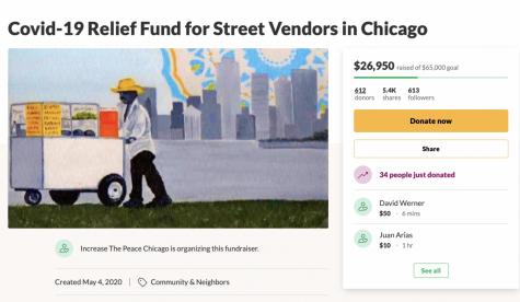 """""""Los vendedores ambulantes son las luces de las calles de Chicago"""": La razón por la cual esta organización local comenzó una iniciativa para proveer alivio a vendedores ambulantes"""
