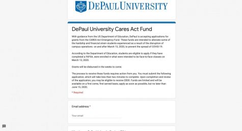 Some DePaul students voice concerns over CARES Act grant application