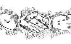Handshakes may not survive the coronavirus pandemic