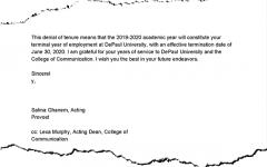 DePaul professor sues university for racial discrimination, retaliation