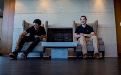 DePaul graduates Landon Campbell, left, and Michael Holmes, are the host of InTheir20s, a podcast designed to help young professionals navigate their careers.
