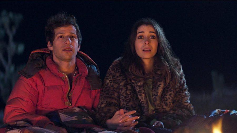 Andy Samberg and Cristin Milioti star in