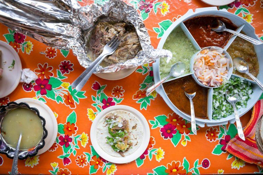 En+Cabo+San+Lucas+en+M%C3%A9xico%2C+el+restaurante+Barbacoa+de+Vicky+sirve+una+variedad+de+comida+que+incluye+tacos.+