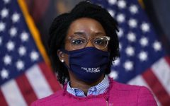 Rep. Lauren Underwood, D-Ill., speaks during a news conference about COVID-19, Thursday, Sept. 17, 2020, on Capitol Hill in Washington.