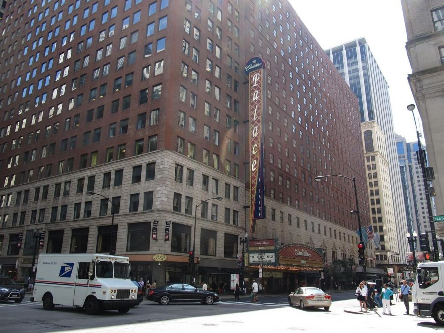 The Cadillac Palace Theatre in downtown Chicago hasn't put on any shows since the pandemic began.