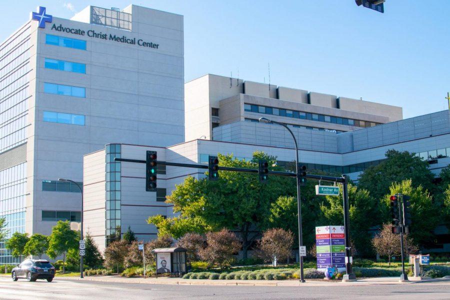Advocate Christ Medical Center está ubicado en Oak Lawn, Illinois y es parte de Advocate Aurora Health.  Karina Mireya | La DePaulia