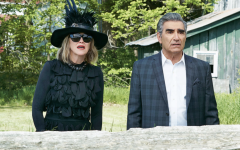 Still of Catherine O'Hara and Eugene Levy in