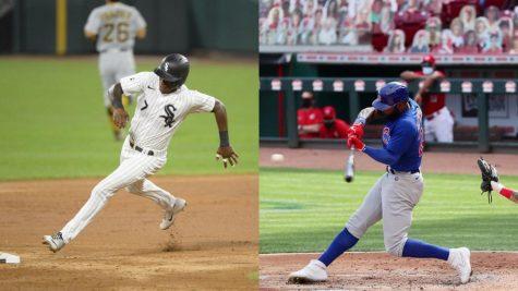 Jason Heyward de los Cachorros de Chicago(derecha) bateando contra los Rojos de Cincinnati. Los White Sox(izquierda) anotaron 4-0 contra los Piratas de Pittsburgh el martes 25 de agosto de 2020.  @theoriginalves @cubs | Instagram