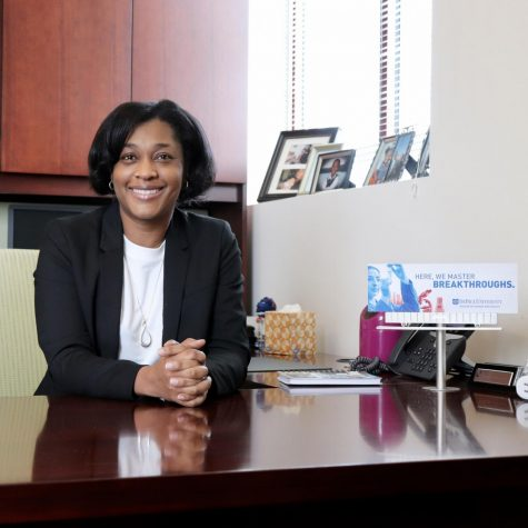 Dr. Stephanie Dance-Barnes, Dean, College of Science and Health, DePaul University.