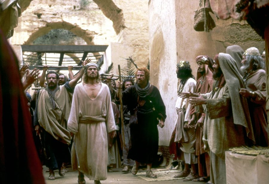 Still from The Last Temptation of Christ which was met with a lot of backlash from Christian groups in the United States.