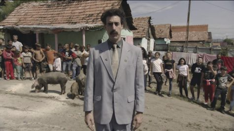 "Still of Sacha Baron Cohen in ""Borat Subsequent Moviefilm."""