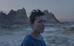 Still of Frances McDormand in Chloe Zhao's third feature film