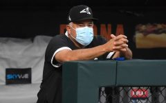 CHICAGO, ILLINOIS - JULY 16: Manager Rick Renteria of the Chicago White Sox watches during Summer Workouts at Guaranteed Rate Field on July 16, 2020 in Chicago, Illinois. (Photo by Quinn Harris/Getty Images)