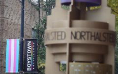 Both names of the Boystown-North Halsted neighborhood are seen throughout the area.