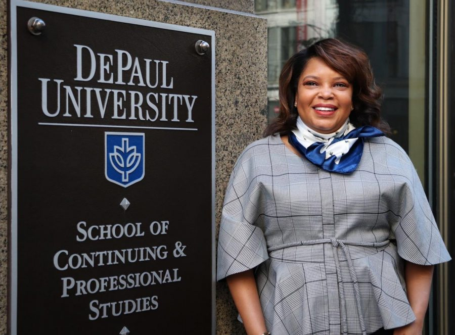 Dr. Tatum Thomas, DePaul's newly appointed Dean of DePaul's School of Continuing and Professional Studies.