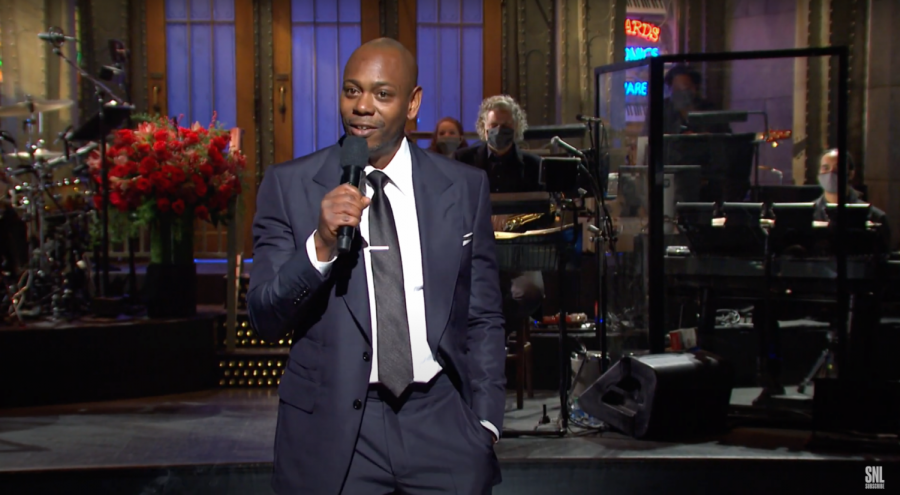 Comedian Dave Chappelle hosted the first