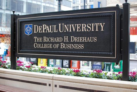 The Driehaus College of Business, located on DePaul