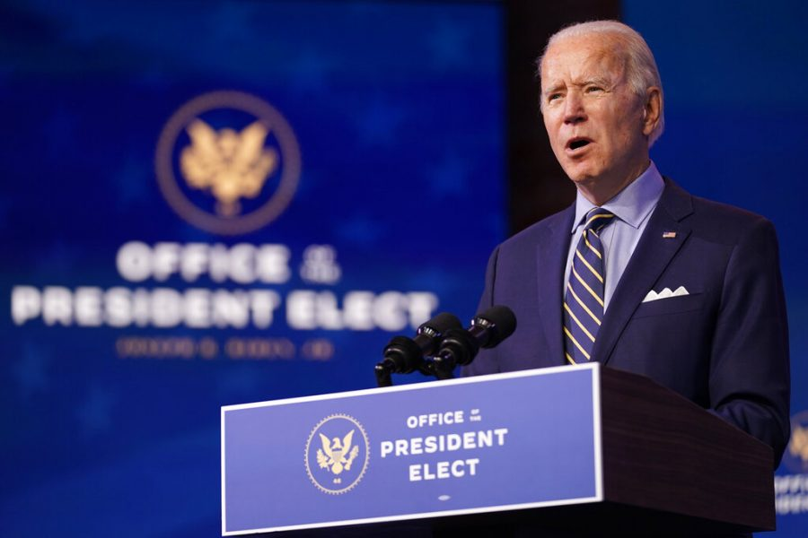 President-elect+Joe+Biden+speaks+at+The+Queen+theater%2C+Monday%2C+Dec.+28%2C+2020%2C+in+Wilmington%2C+Del.+%28AP+Photo%2FAndrew+Harnik%29