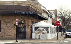 Crosby's Kitchen in Chicago's Lakeview neighborhood with added outdoor winter seating.