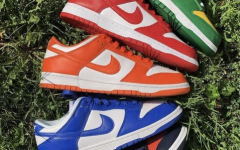 Assorted Nike Dunks; the apparel company is celebrating the 15th anniversary of the SB Dunks this year.