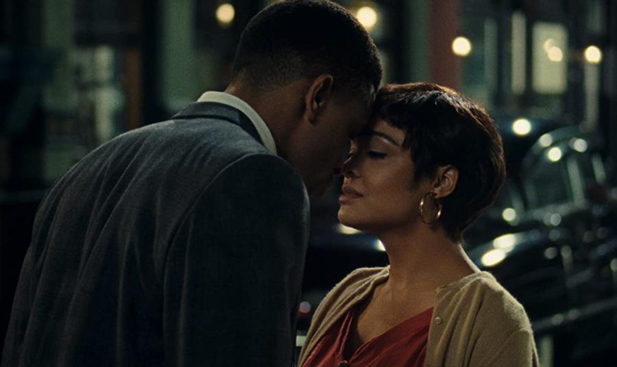 Tessa Thompson and Nnamdi Asomugah star in Sylvie's Love.