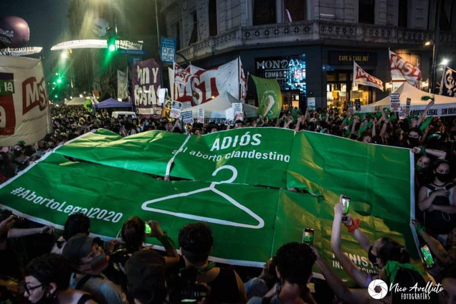 En una votación de 39 a 29, la legislatura Argentina aprobó un proyecto de ley que legaliza el aborto.  Nicolas Avelluto @nicolas_avelluto | Instagram