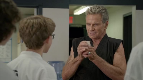 "Martin Kove reprises his role as Cobra Kai sensei John Kreese in season 3 of ""Cobra Kai."