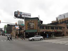 Portillos Hot Dogs, located in downtown Chicago.