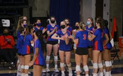 DePaul's volleyball team gets ready to face Marquette in its season opener
