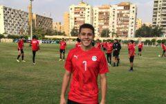 DePaul freshman midfielder Omar Ramadan practiced with the Egypt national team last summer.