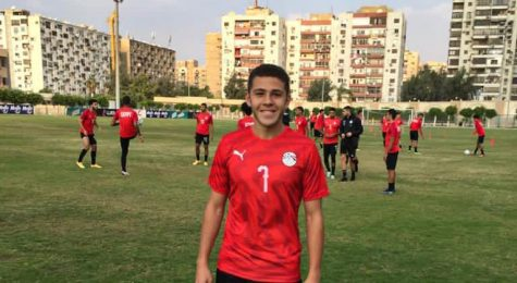 DePaul freshman midfielder Omar Ramadan practiced with the Egypt national team last summer.