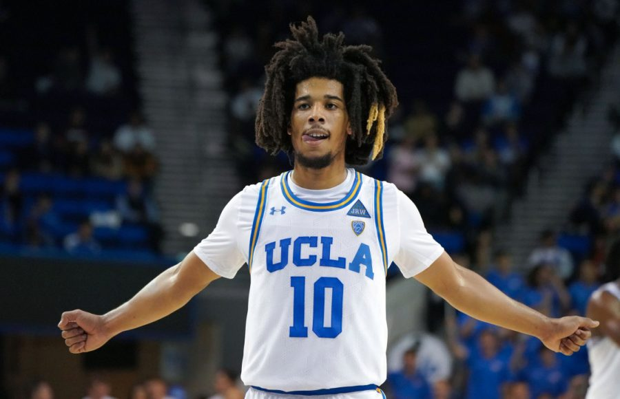 UCLA Bruins guard Tyger Campbell #10 in Westwood on Wednesday, Nov. 6, 2019. (Photo by Scott Varley, Daily Breeze/SCNG)