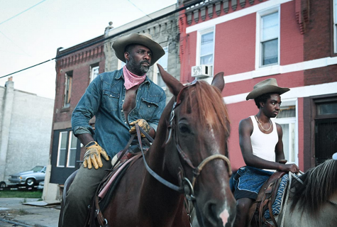 "Idris Elba and Caleb McLaughlin star as a father-son duo in ""Concrete Cowboy,"" based off of the book ""Ghetto Cowboy"" by Greg Neri."