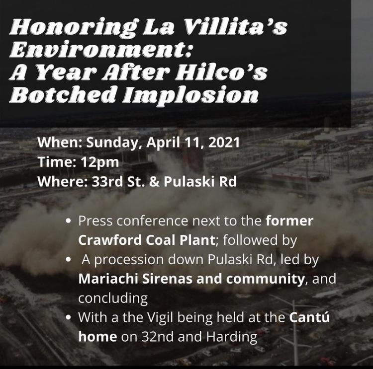 LVEJO tuvieron un evento conmemorando a las víctimas del racismo ambiental en La Villita.