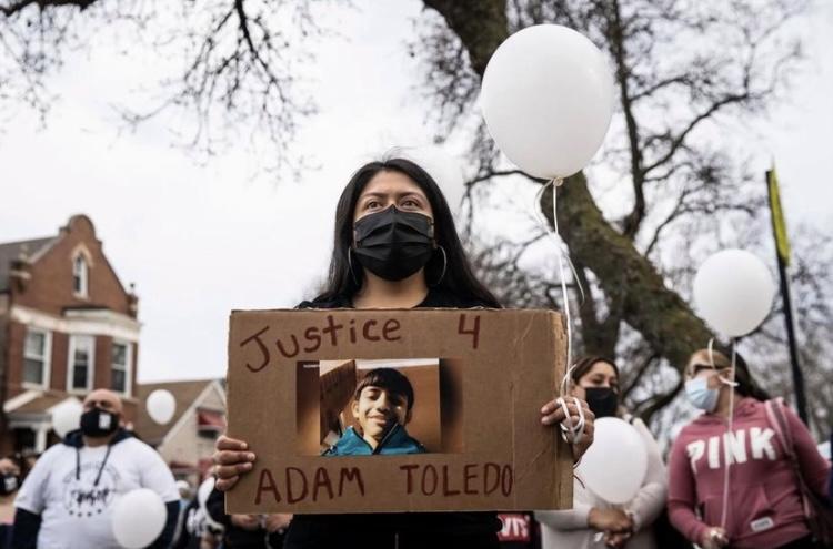 Adam+fue+disparado++por+un+oficial+de+la+polic%C3%ADa+de+Chicago+el+29+de+marzo+en+La+Villita.
