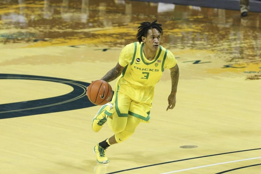 Oregon transfer Jalen Terry announced on Friday that he is joining DePaul next season.