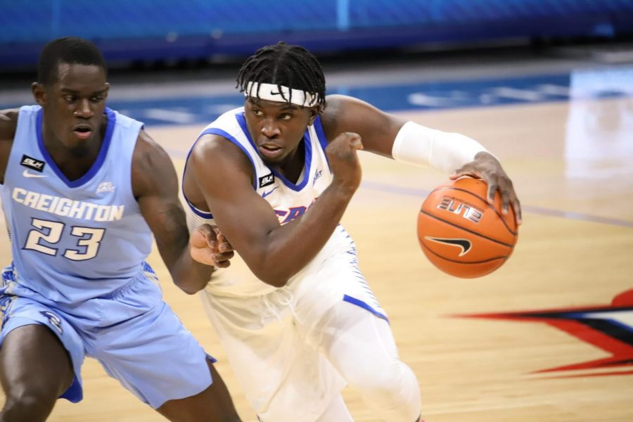 Former DePaul guard Ray Salnave is one of nine players to leave the program last season.