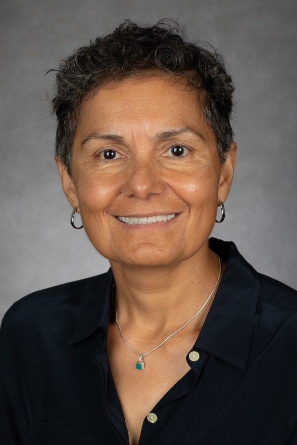 Lourdes Torres, Professor, Latin American and Latino Studies, College of Liberal Arts and Social Sciences, DePaul University, is pictured Sept. 13, 2018. (DePaul University/Jeff Carrion)