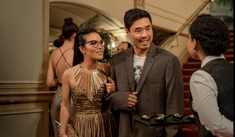 Randall Park and Ali Wong in