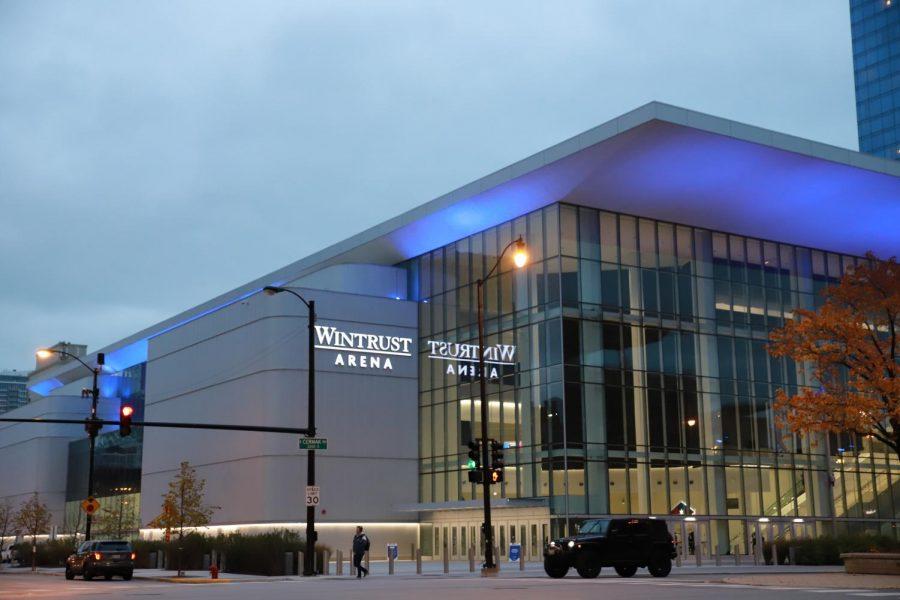 Wintrust Arena is going to host the 2021 NBA Draft combine.