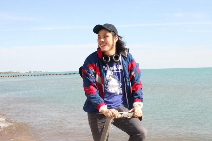 """Ty Yamamoto, DePaul alumni and filmmaker who's short experimental film """"Face Me"""" released at the CineYouth festival."""