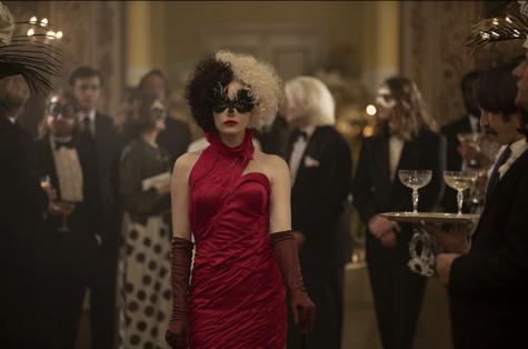 """Emma Stone in """"Cruella"""" the origin story of Disney villain Cruella De Vil."""