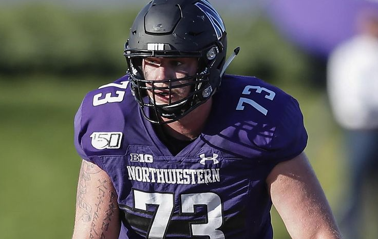 Gunnar Vogel signed with the Chicago Bears following the 2021 NFL Draft.