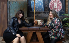 Nicci Nunez, left, and Alex Stewart, the founders and hosts of