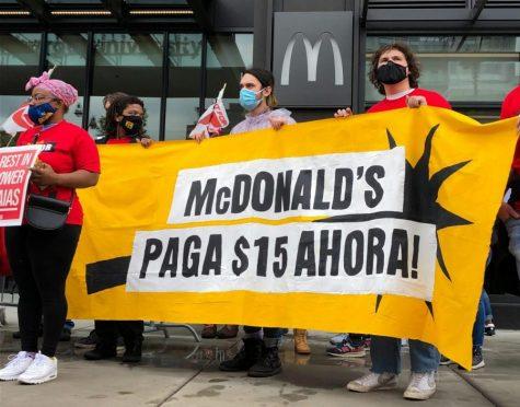 Los trabajadores de McDonald