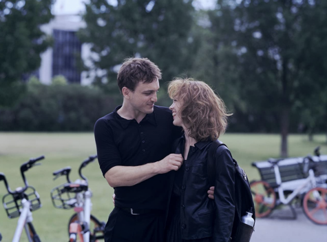 """Franz Rogowski and Paula Beer in """"Undine,"""" which premiered at the Berlinale Film Festival in 2020. The film is a modern version of the classic European myth of the same name."""