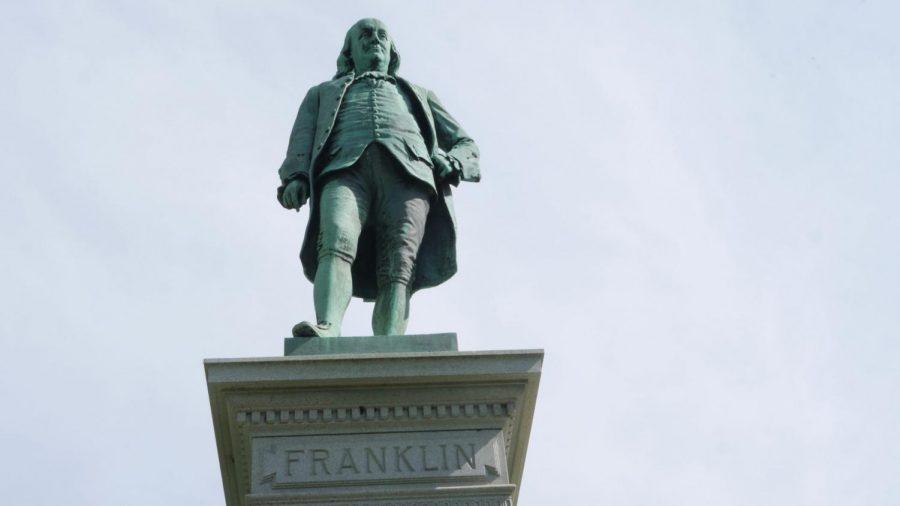 Benjamin Franklin Statue in Chicago