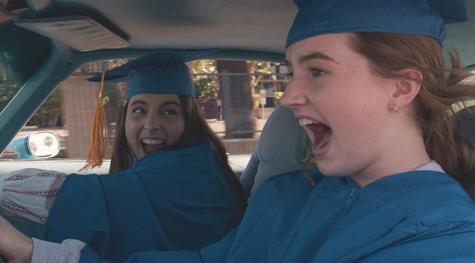 """Beanie Feldstein (left) and Kaitlyn Dever (right) in """"Booksmart."""""""