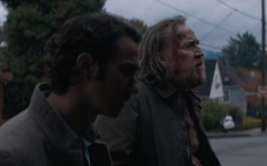 Alex Wolff and Nicolas Cage in Pig.