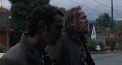 """Alex Wolff and Nicolas Cage in """"Pig."""""""